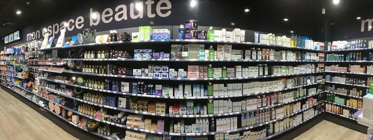 Pharmacie des Fourches, espace beauté